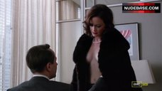 Alexis Bledel Side Boob, Hot Scene – Mad Men
