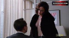 11. Alexis Bledel Side Boob, Hot Scene – Mad Men