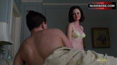 7. Alexis Bledel Lingerie Scene – Mad Men