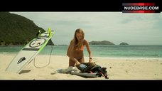 Sexy Blake Lively on Beach – The Shallows