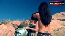 Michelle Betts Boobs Scene – Galaxy Hunter