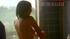 Elizabeth Wagner Nude under Shower – Lap Dancer