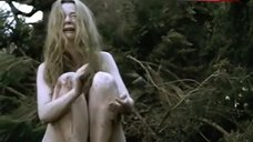 Emily Watson Siting Naked in Wood – Hilary And Jackie