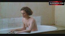 4. Sigourney Weaver Naked in Bathtub – Half Moon Street