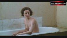 6. Sigourney Weaver Naked in Bathtub – Half Moon Street