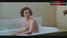 7. Sigourney Weaver Naked in Bathtub – Half Moon Street
