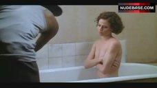 8. Sigourney Weaver Naked in Bathtub – Half Moon Street