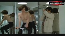 1. Sigourney Weaver Topless on Exercise Bike – Half Moon Street