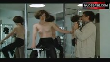 2. Sigourney Weaver Topless on Exercise Bike – Half Moon Street