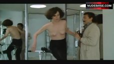 5. Sigourney Weaver Topless on Exercise Bike – Half Moon Street