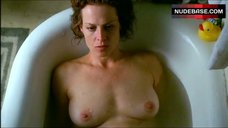 Sigourney Weaver Naked in Tub – A Map Of The World