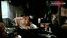Robin Weigert in Bathtub – Deadwood