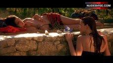 10. Rachel Weisz Topless Sunbathing – Stealing Beauty
