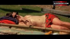 4. Rachel Weisz Topless Sunbathing – Stealing Beauty