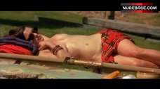 5. Rachel Weisz Topless Sunbathing – Stealing Beauty