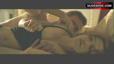Rachel Weisz in Black Lingerie – Confidence