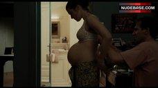 7. Rachel Weisz Pregnant in Tub – The Constant Gardener