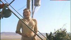 1. Raquel Welch in Wet Shirt – 100 Rifles