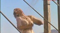 6. Raquel Welch in Wet Shirt – 100 Rifles