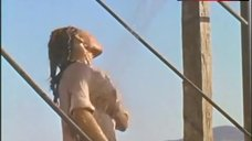 9. Raquel Welch in Wet Shirt – 100 Rifles