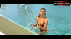 Raquel Welch in Brown Bikini – Lady In Cement