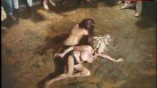 Marsha Jordan Topless Fighting in Mud – Lady Godiva Rides