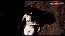 2. Melanie Laurent Naked in the Dirt – L' Amour Cache