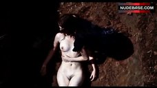 3. Melanie Laurent Naked in the Dirt – L' Amour Cache