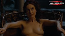Carice Van Houten Naked in Bathtub – Game Of Thrones