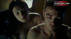 Carice Van Houten Nipple Flash – Amnesia
