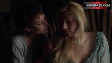 1. Katheryn Winnick Lesbian Kiss – Vikings