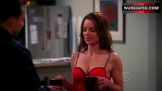 Kimberly Williams-Paisley Hot Scene – Two And A Half Men