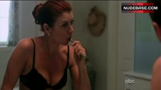 Kate Walsh in Black Bra – Private Practice
