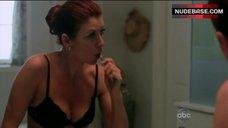 1. Kate Walsh in Black Bra – Private Practice