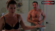 4. Kate Walsh in Black Bra – Private Practice