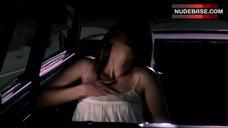3. Lauren German Masturbating in Car – Dark Country