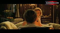 6. Naked Kate Winslet Drawing Scene – Titanic