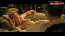 9. Naked Kate Winslet Drawing Scene – Titanic