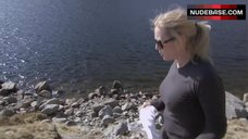 5. Kate Winslet Without Bra – Running Wild With Bear Grylls
