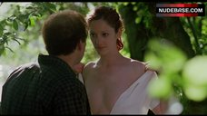 Judy Greer Shows Naked Boobs – Adaptation