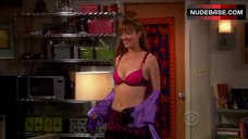 Judy Greer Sexy in Lingerie – The Big Bang Theory