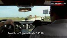 1. Irina Voronina Topless on Beach – Reno 911!: Miami