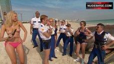 4. Irina Voronina Topless on Beach – Reno 911!: Miami