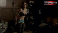 3. Jessica Parker Kennedy in Sexy Lingerie – The Secret Circle