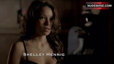 7. Jessica Parker Kennedy in Sexy Lingerie – The Secret Circle