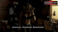 8. Jessica Parker Kennedy in Sexy Lingerie – The Secret Circle