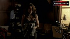 9. Jessica Parker Kennedy in Sexy Lingerie – The Secret Circle