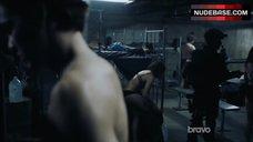 10. Jessica Parker Kennedy Underwear Scene – Colony