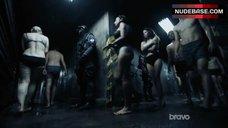 4. Jessica Parker Kennedy Underwear Scene – Colony