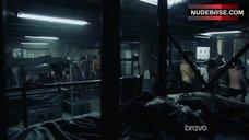 6. Jessica Parker Kennedy Underwear Scene – Colony